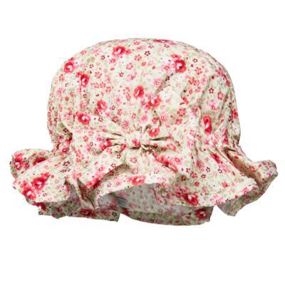 Imagem 4 do produto Conjunto de banho para bebê Liberty: Bumbum + Chapéu - Roana - BSR00900973 BANHO DE SOL C/ RENDA 3737 FLORAL/LARANJA-M