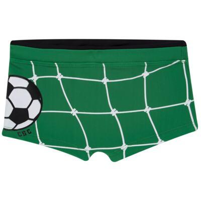 Imagem 4 do produto Conjunto de Banho Football: Camiseta surfista + Sunga - Cara de Criança - KIT 1 2529: SB2529+CSA2529 SUNGA E CAMISETA FUTEBOL-2