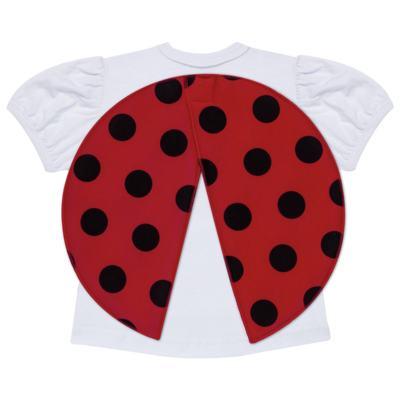 Imagem 3 do produto Pijama curto para bebe que Brilha no Escuro Joaninha - Cara de Criança - U2281 JOANINHA 10 U PIJAMA CURTO M/MALHA-1