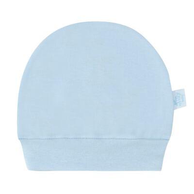Imagem 1 do produto Touca para bebe em suedine Azul - Tilly Baby - TB13117.09 GORRO SUEDINE AZUL-RN