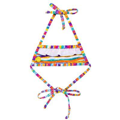 Imagem 4 do produto Conjunto de Banho Peace & Love: Camiseta + Biquíni - Cara de Criança - KIT 1 2586: B2586+CCA2586 BIQUINI E CAMISETA SUMMER-2