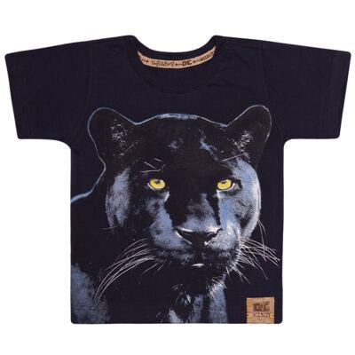 Imagem 1 do produto Camiseta que Brilha no Escuro Pantera - CDC T-Shirt - CMC0993 CAMISETA QUE BRILHA NO ESCURO PANTERA-6