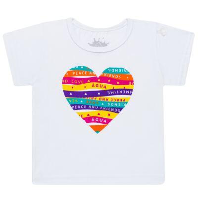 Imagem 2 do produto Conjunto de Banho Peace & Love: Camiseta + Biquíni - Cara de Criança - KIT 1 2586: B2586+CCA2586 BIQUINI E CAMISETA SUMMER-6