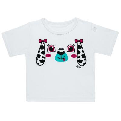 Imagem 4 do produto Conjunto de Banho para bebe Dalmatians: Camiseta + Maiô + Chapéu - Cara de Criança - KIT 1 2536: MB2536+CH2536+CCAB2536 MAIO E CHAPEU E CAMISETA DALMATA-M