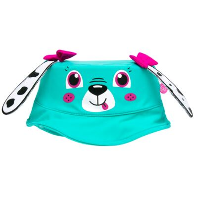 Imagem 5 do produto Conjunto de Banho para bebe Dalmatians: Camiseta + Maiô + Chapéu - Cara de Criança - KIT 1 2536: MB2536+CH2536+CCAB2536 MAIO E CHAPEU E CAMISETA DALMATA-M
