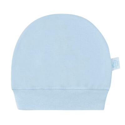 Imagem 2 do produto Kit Touca e Luva para bebe em suedine Azul - Tilly Baby - TB13114.09 GORRO R LUVA DE SUEDINE AZUL-P