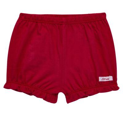 Imagem 1 do produto Shorts balonê para bebe em malha Vermelho - Tilly Baby - TB13105.04 SHORT BALONE MEIA MALHA VERMELHO CEREJA-P