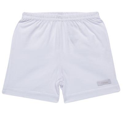 Imagem 1 do produto Shorts para bebe em malha Branco - Tilly Baby