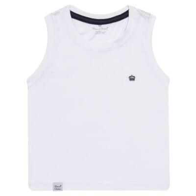 Imagem 1 do produto Regata em malha Branca - Mini & Classic - 9501671 REGATA AVULSA MALHA BRANCA-2