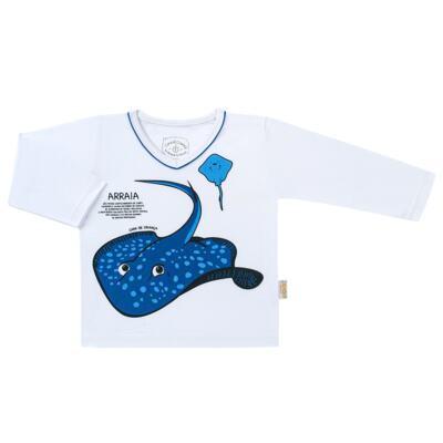 Imagem 2 do produto Pijama longo que Brilha no escuro Arraia - Cara de Criança - L2347 ARRAIA L PJ-LONGO M/MALHA-1
