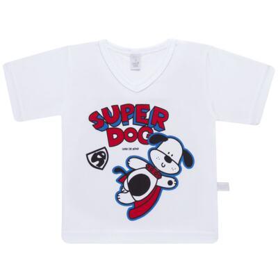 Imagem 2 do produto Pijama curto em malha Super Dog - Cara de Sono - U2462 SUPER DOG U PIJAMA-CURTO M/MALHA-2
