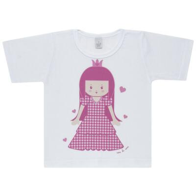 Imagem 2 do produto Pijama curto com Shorts em malha Princesinha - Cara de Sono - U1997 PRINCESINHA U PIJAMA-CURTO M/MALHA -1