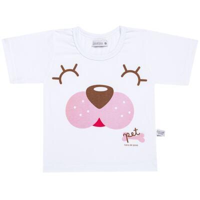 Imagem 2 do produto Pijama curto com Shorts em malha Cachorrinha - Cara de Sono - U2118 PET MENINA PIJAMA-CURTO M/MALHA-3
