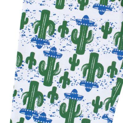Imagem 7 do produto Pijama longo que Brilha no escuro Cacto - Cara de Criança - L2371 CACTUS L PJ-LONGO M/MALHA-6