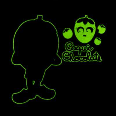 Imagem 5 do produto Pijama Curto que Brilha no Escuro Caqui Chocolate - Cara de Criança - C1912 CAQUI CHOCOLATE C PJ - MG CURTA C/CALCA M/MALHA -2