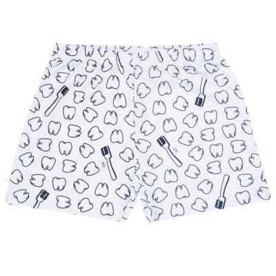 Imagem 5 do produto Pijama curto que Brilha no Escuro Dentinho - Cara de Criança - U2887 TIME SORRISO MASC. U PIJAMA CURTO M/MALHA -2