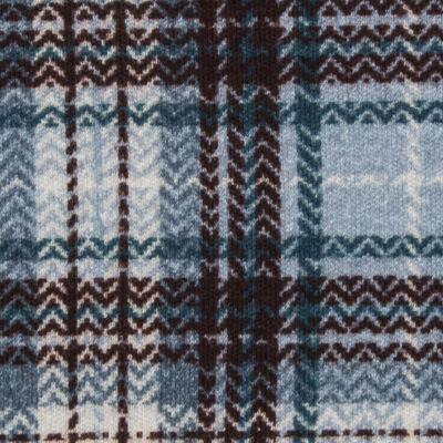 Imagem 3 do produto Body regata c/ Cobre Fralda para bebe em algodão egípcio Windsor - Roana - 02132024370 Body c/ Cueca Xadrez Azul -P