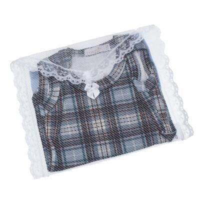 Imagem 5 do produto Body regata c/ Cobre Fralda para bebe em algodão egípcio Windsor - Roana - 02132024370 Body c/ Cueca Xadrez Azul -P