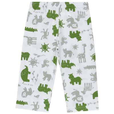 Imagem 4 do produto Pijama longo em malha Croc - Cara de Sono - L1988 CROCODILO L PJ-LONGO M/MALHA-1