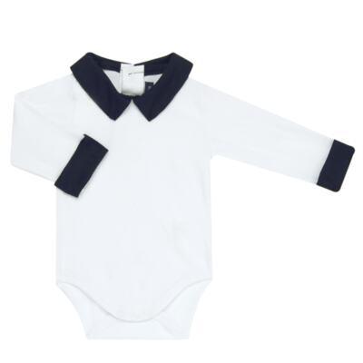 Imagem 6 do produto Jogo Maternidade para bebe com Macacão + Body longo + Manta em tricot  Náutico - Mini Sailor - 47204443 Jogo Maternidade S Longo c/ Body Tricot Vermelho -0-3