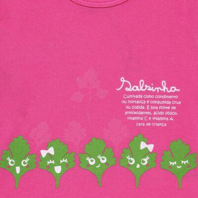 Imagem 3 do produto Pijama longo que Brilha no Escuro Salsinha - Cara de Criança - L1913 SALSINHA L PJ-LONGO M/MALHA-1