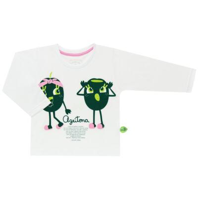 Imagem 2 do produto Pijama longo que Brilha no Escuro Azeitoninha - Cara de Criança - L1638 AZEITONA L PJ-LONGO M/MALHA-2