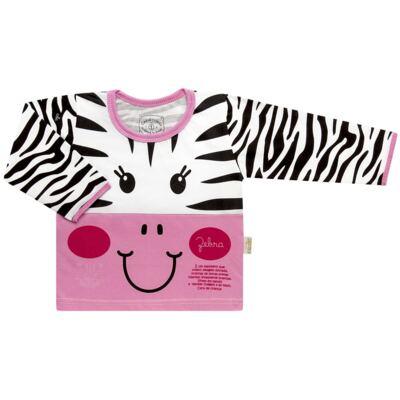 Imagem 2 do produto Pijama longo que Brilha no Escuro Zebrinha - Cara de Criança - L1646 ZEBRA L PJ-LONGO M/MALHA -3