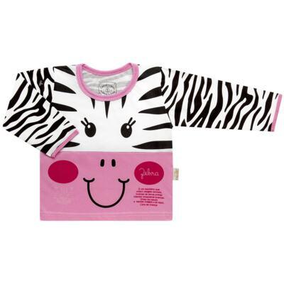 Imagem 2 do produto Pijama longo que Brilha no Escuro Zebrinha - Cara de Criança - L1646 ZEBRA L PJ-LONGO M/MALHA -2