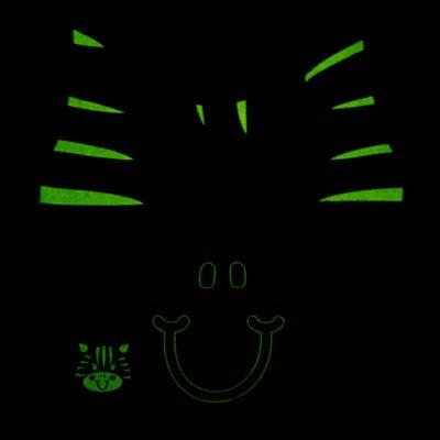 Imagem 5 do produto Pijama longo que Brilha no Escuro Zebrinha - Cara de Criança - L1646 ZEBRA L PJ-LONGO M/MALHA -2