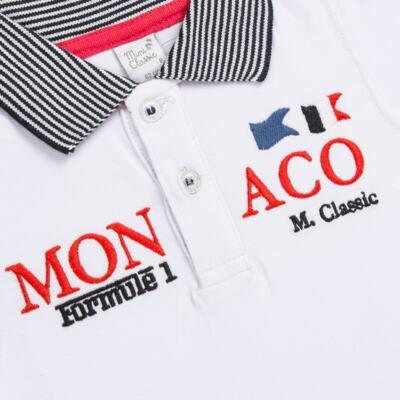 Imagem 2 do produto Camiseta polo em cotton Racing - Mini & Classic - 6012668 CAMISETA POLO M/C COTTON GRAND PRIX-G