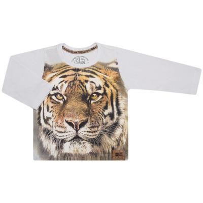 Imagem 1 do produto Camiseta longa em malha Tigre - CDC Tshirt