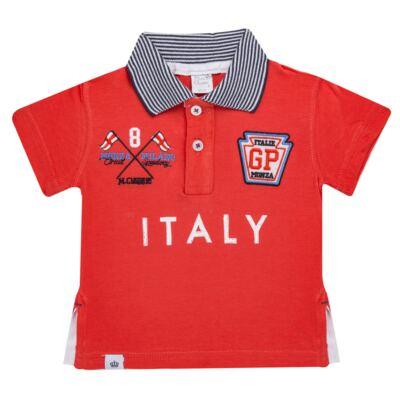 Imagem 1 do produto Camiseta Polo em cotton Race - Mini & Classic