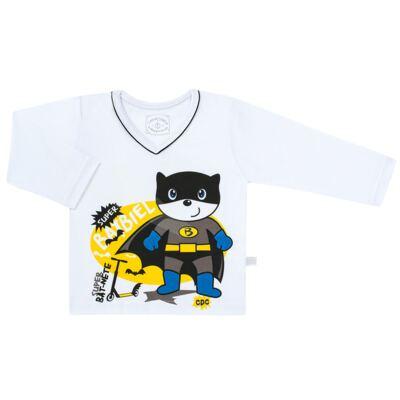 Imagem 2 do produto Pijama que Brilha no escuro BatBiel - Cara de Criança - L2378 BATBIEL L PJ-LONGO M/MALHA -6