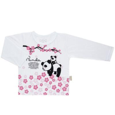 Imagem 2 do produto Pijama longo que Brilha no Escuro Panda - Cara de Criança - L1816 PANDA SAKURA L PJ - LONGO M/MALHA-3