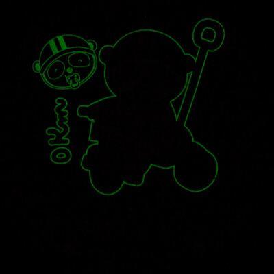 Imagem 5 do produto Pijama 4 botões que Brilha no Escuro Biel Bike - Cara de Criança - 4L2338 BIEL BIKE 4L PJ 4 BOTOES-LONGO M/MALHA-GG