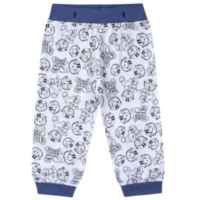 Imagem 6 do produto Pijama 4 botões que Brilha no Escuro Biel Bike - Cara de Criança - 4L2338 BIEL BIKE 4L PJ 4 BOTOES-LONGO M/MALHA-GG