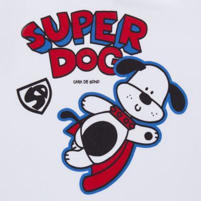 Imagem 3 do produto Pijama longo em malha Super Dog - Cara de Sono - L2462 SUPER DOG L PJ-LONGO M/MALHA-4