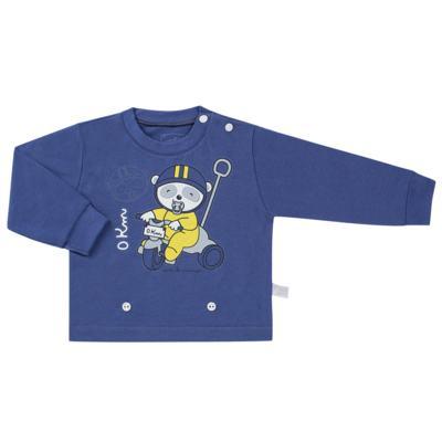 Imagem 2 do produto Pijama 4 botões que Brilha no Escuro Biel Bike - Cara de Criança - 4L2338 BIEL BIKE 4L PJ 4 BOTOES-LONGO M/MALHA-M