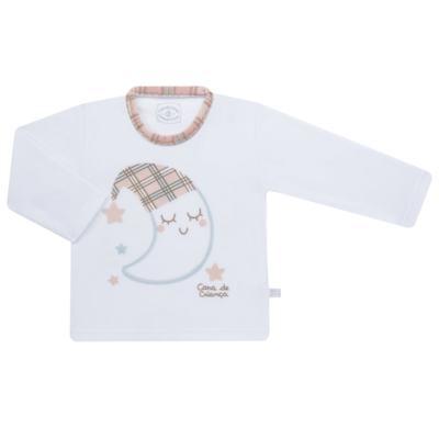 Imagem 2 do produto Pijama longo que Brilha no Escuro em soft Sleepy Moon - Cara de Criança - S2368 LUA S PIJAMA-SOFT SOFT-6