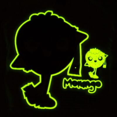 Imagem 4 do produto Pijama longo que Brilha no Escuro Moranguinho - Cara de Criança - L1635 MORANGO L PJ-LONGO M/MALHA-2