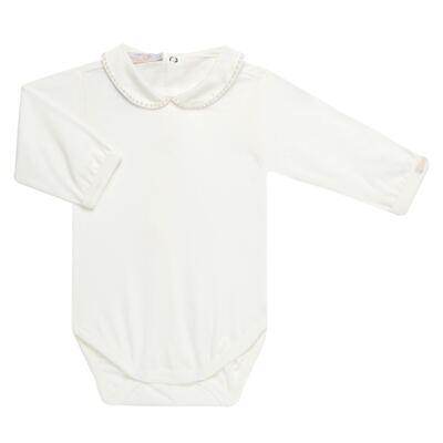 Imagem 4 do produto Conjunto para bebê Pom Pom : Casaquinho + Body longo + Calça - Roana - 26032015018 CONJUNTO LEGGING CASACO POM POM CINZA-G