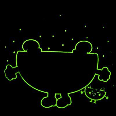 Imagem 5 do produto Pijama Curto que Brilha no Escuro Melancia - Cara de Criança - U0686 PIJAMA CURTO QUE BRILHA NO ESCURO MELANCIA-8