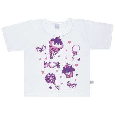 Imagem 2 do produto Pijama curto com Shorts em malha Candy - Cara de Sono - U1998 GULOSEIMAS U PIJAMA-CURTO M/MALHA -3