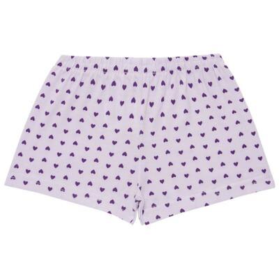 Imagem 4 do produto Pijama curto com Shorts em malha Candy - Cara de Sono - U1998 GULOSEIMAS U PIJAMA-CURTO M/MALHA -4