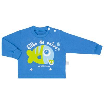 Imagem 2 do produto Pijama 4 botões que Brilha no Escuro Filho de Peixe - Cara de Criança - 4L2704 FILHO DE PEIXE 4L PJ 4 BOTOES LONGO M/MALHA-PP