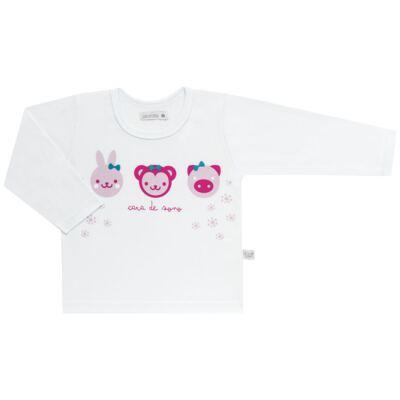 Imagem 2 do produto Pijama longo em malha Bichinhos - Cara de Sono - L1743 ANIMAIS FEM. L PJ-LONGO M/MALHA-1