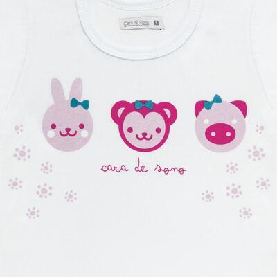 Imagem 3 do produto Pijama longo em malha Bichinhos - Cara de Sono - L1743 ANIMAIS FEM. L PJ-LONGO M/MALHA-1