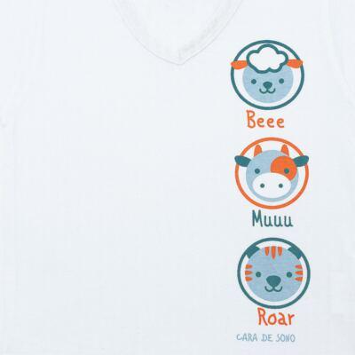 Imagem 3 do produto Pijama longo em malha Bichinhos - Cara de Sono - L1733-ANIMAIS MASC L PJ-LONGO M/MALHA-3