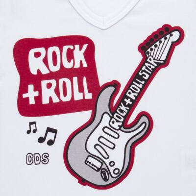 Imagem 3 do produto Pijama longo em malha Rockn´ Roll - Cara de Sono - L2466 ROCK+ROLL L PG-LONGO M/MALHA-1