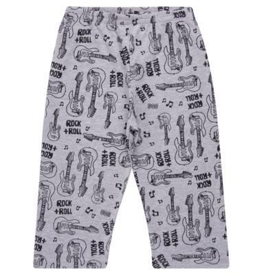Imagem 4 do produto Pijama longo em malha Rockn´ Roll - Cara de Sono - L2466 ROCK+ROLL L PG-LONGO M/MALHA-2